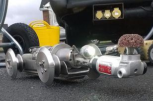 All Drain Repair Cutting Tool Robot Robotic Sewer